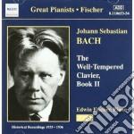 Clavicembalo ben temperato (libro ii) cd musicale di Johann Sebastian Bach