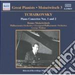 Concerto x pf n.1 op.23, n.2 op.44, chan cd musicale di Ciaikovski pyotr il'