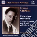 Chopin-polonaises cd musicale di RUBUNSTEIN-CHOPIN