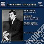 Schumann-brahms cd musicale di MOISEIWITSCH
