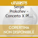 Prokofiev Sergei - Concerto X Pf N.3 Op.22, Visioni Fuggitive Op.22, Suggestion Diabolique Op.4 N.4 cd musicale di PROKOFIEV