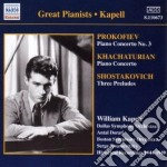 Prokofiev Sergei - Concerto Per Pianoforte N.3 Op.26 cd musicale di Sergei Prokofiev