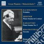 Selezione di brani per pianoforte cd musicale di Benno Moiseiwitsch