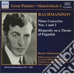 Concerto x pf n.1 op.1, n.2 op.18, rapso cd musicale di Sergei Rachmaninov