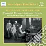 Welte-mignon piano rolls, vol.1 cd musicale