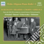 Welte mignon piano rolls, vol.3 cd musicale