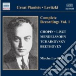 Mischa levitzki complete recordings, vol cd musicale