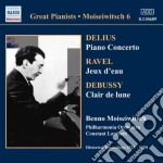 Benno moiseiwitsch - great pianists cd musicale