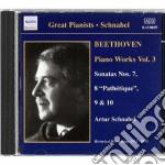 Opere per pianoforte (integrale) vol.3: cd musicale di Beethoven ludwig van