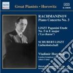 Concerto per pianoforte n.3 op.30 cd musicale di Sergei Rachmaninov
