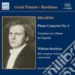 Concerto per pianoforte n.1 op.15, varia cd musicale di Johannes Brahms