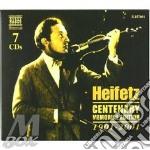 Centenary..box 7cd cd musicale di Jascha Heifetz