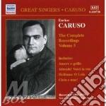 Complete rec.vol.5 cd musicale di Enrico Caruso