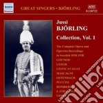 Jussi Bjorling Collection Vol.1 cd musicale di Jussi BjÖrling