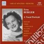 Berger Erna - A Vocal Portrait cd musicale di Erna Berger
