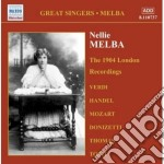 Melba Nellie - Complete Grammophone Company Recordings, Vol.1: The 1904 London Recordings cd musicale di Nellie Melba