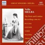 Nellie melba, vol.3: le registrazioni d cd musicale
