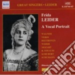 Frida leider: a vocal portrait (1888-197 cd musicale