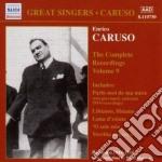Integrale delle registrazioni, vol 9 cd musicale di Enrico Caruso