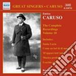 Enrico Caruso - Integrale Delle Registrazioni, Vol.10 cd musicale di Enrico Caruso