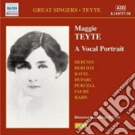 A vocal portrait cd musicale di Maggie Teyte
