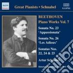 Opere per pianoforte (integrale) vol.7 cd musicale di Beethoven ludwig van