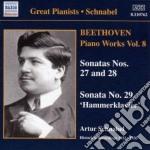 Opere per pianoforte (integrale), vol.8 cd musicale di Beethoven ludwig van