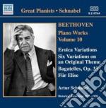 Opere per pianoforte (integrale), vol.10 cd musicale di Beethoven ludwig van