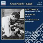 Concerto per pianoforte n.2 op.19 cd musicale di Beethoven ludwig van