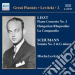 Concerto per pianoforte n.1, rapsodie un cd musicale di Franz Liszt