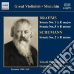 Brahms Johannes - Sonata Per Violino N.1 Op.88, N.3 Op.108 cd musicale di Johannes Brahms