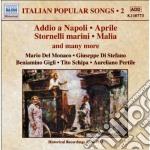 Canti popolari italiani, vol.2 cd musicale