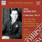 Collection, vol.6: erik odde pseudonym r cd musicale di Jussi BjÖrling