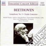 Sinfonia n.5 op.67, concerto triplo op.5 cd musicale di Beethoven ludwig van