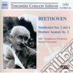 Sinfonia n.2 op.36, n.4 op.60, leonora n cd musicale di Beethoven ludwig van