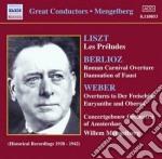 Ouvertures da il franco cacciatote, ober cd musicale di Weber carl maria von
