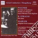 Wagner - Ouverture Dal Tannhauser, Preludio Dal Lohengrin, Mormorio Della Foresta cd musicale di Richard Wagner