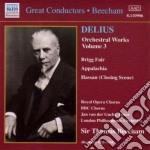 Opere x orchestra vol.3: brigg fair, koa cd musicale di Frederick Delius