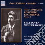 Fritz kreisler: the complete concerto re cd musicale