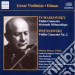 Tchaikovsky - Violin Concerto X Vl Op.35 / Serenede Malinconique Op.26 - Mischa Elman cd musicale di Ciaikovski pyotr il'