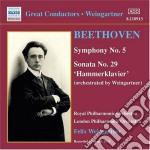 Sinfonia n.5 op.67, sonata n.29