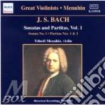 J.s.bach-sonatas & p.vol.1 cd musicale di MANUHIM