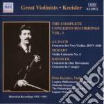 Kreisler fritz vol.3 cd musicale