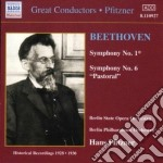 Symphonies nos.1 & 6 cd musicale di BEETHOVEN