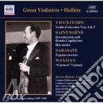 Vieuxtemps-saint saens-wax. cd musicale di HEIFETZ