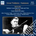 Sinfonia concertante per violino e viola cd musicale di Wolfgang Amadeus Mozart