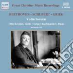 Sonata per violino n.8 (2 versioni) cd musicale di Beethoven ludwig van