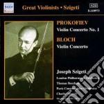 Concerto per violino n.1 op.19 cd musicale di Sergei Prokofiev