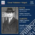 Bach J.S. - Concerto Per Violino Bwv 1052, Bwv 1053, Concerto Per 2 Violini Bwv 1043, Arioso cd musicale di Johann Sebastian Bach