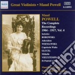 The complete recordings, vol.4: 1904-191 cd musicale di Maud Powell